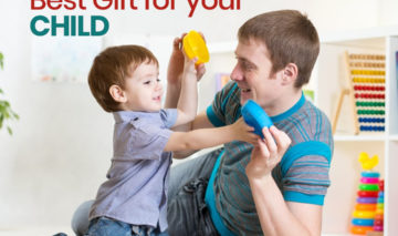 The best gift you can give to your child…